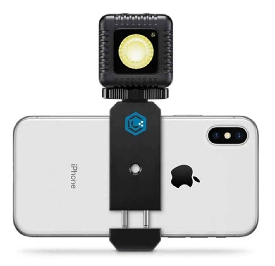 The LumeCube accessory connects to an iPhone via Bluetooth - Apple to support third-party camera accessories for the iPhone through its MFi program