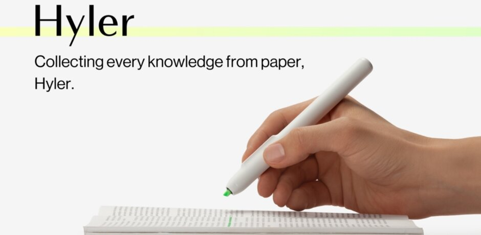 Hyler is a smart highlighter that digitizes text printed on paper - Here are the cool incubator projects and startups Samsung will display at CES next month