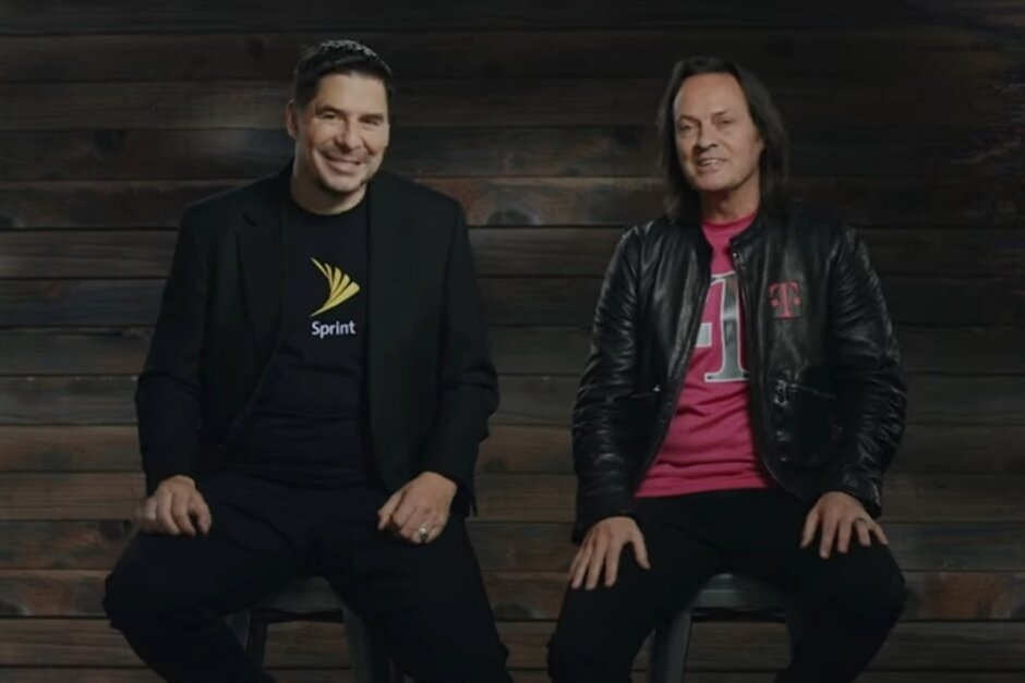 Marcelo Claure (L) testified today after John Legere (R) was on the stand last week - Former Sprint CEO Claure testifies that without T-Mobile, Sprint will have to raise prices