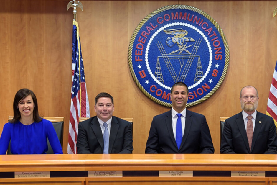 By a 3-2 vote, the FCC agrees to pay foreign satellite firms to auction off their mid-band spectrum - FCC approves plan that will lead to an auction of mid-band spectrum for 5G